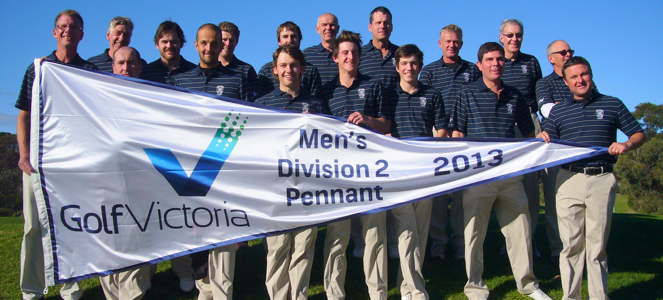 2013 Men's Pennant Winners!